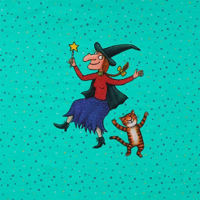 panel für hund und katz ist auch noch platz tanzparty - stoffimpressi, 13,00