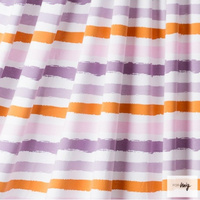 Sommerjersey Stripes 5, flieder