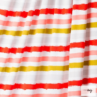 Sommerjersey Stripes 2, red